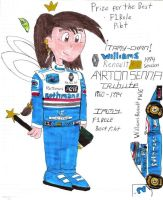 Tamy In the Tribute of A.Senna by KimiBarHonda