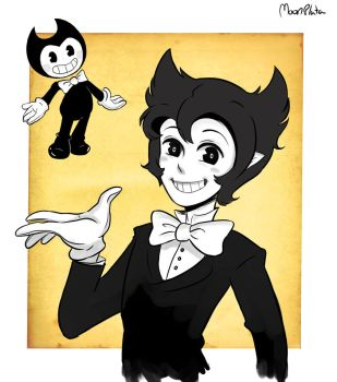 Human Bendy by moonplata