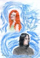 Severus and Lily. Always by MadelineSlytherin
