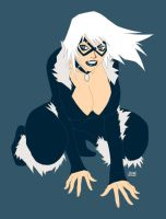Black Cat WIP by scruffyronin