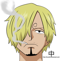 Sanji - two years later Colored by KoraShin
