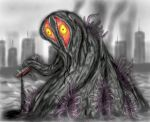 Hedorah,The Smog Monster by Sakitaro