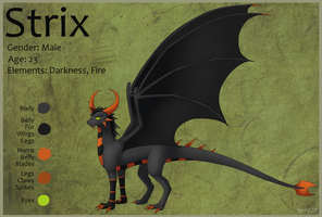 Strix Ref 2013 by Draiconeon
