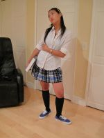 Private School  Girl 39 by imagine-stock