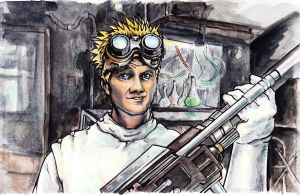 Dr. Horrible by Cimikat