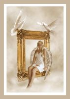 ::Picture of Angel:: by flaviacabralart