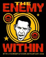 The Enemy Within: Obama by Conservatoons