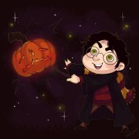 Harry Potter Halloween by TalinComill