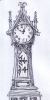 Grimling's Grandfather Clock by dashinvaine