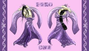 Eiko Oni Character Sheet 'Oh, Brother!' Chapter 3 by jijikero