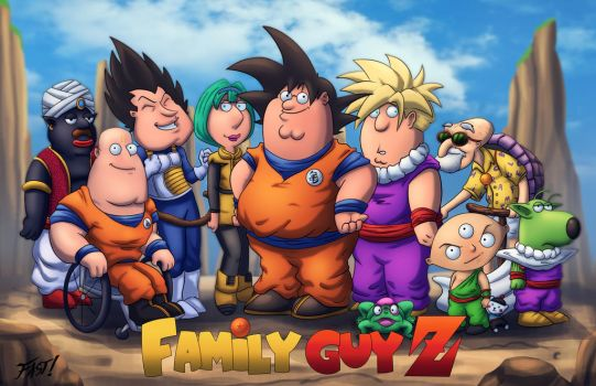 Family Guy Z by Kyle-Fast