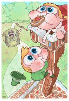 Hansel and Gretel are Assholes by annamariajung