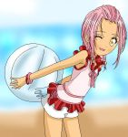 Amu at the Beach by Amu---Chii