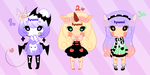 Pastel Goth Adopts +1/3 Open+ by Syumi