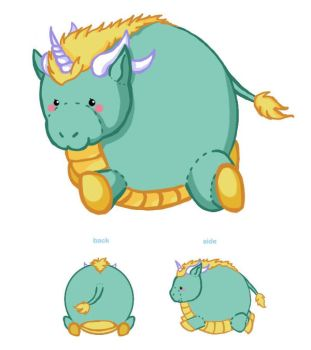 Kirin Plush Design by Weslie