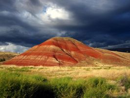 painted hills by hoving