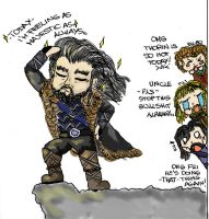 Thorin is feeling majestic... by Orikunie