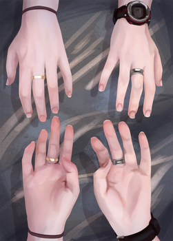 Artist Hands by Cantrona