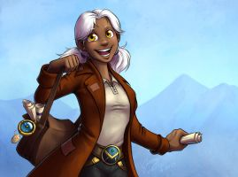 Faces of Wildstar - Paksara Phillips by evion