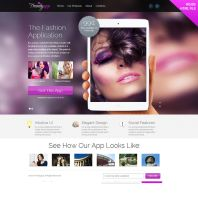 TrendyApp - HTML5/CSS3 App Showcase Landing Page. by prestigedesign