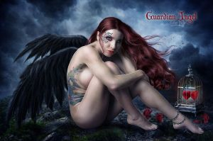 Guardian Angel by EstherPuche-Art
