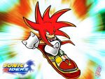 Knuckles Sonic Riders by AdoubleA