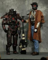 NCR Ranger and Outcast 2 by miss-mustang