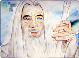 Gandalf the White by schizophreni