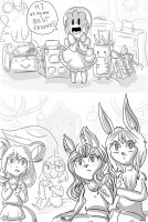 LuLu's Arrival Part 2-Settling In by PixieParrot