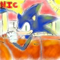 Sonic Drive In by chikhra