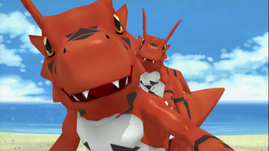 Guilmon HD by Deimos1984rd
