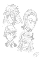 Shinigami Sketches by Illogicat
