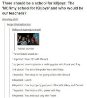 The My chemical romance school by The-MCR-Fan-Club