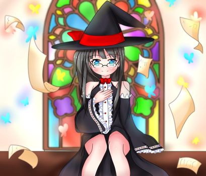 Little witch by nosoradesu