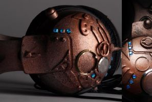 Steampunk Headphones by Lysa-Bell