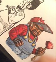 Marvin Copic Color by MisterBZD