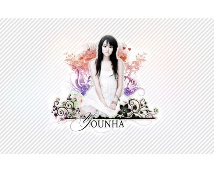 Younha :: Colorful White by royaltybites