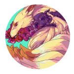 Ninetales used Toxic! by saponin