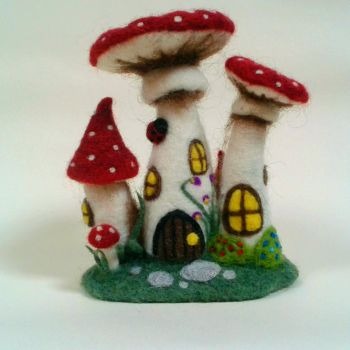 Toadstool House by HeartfeltCreations