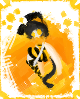 Paint of a Mess: Kimow by The-Pink-Green-Chibi