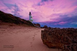 Lighthouse in March 2 by DanielleMiner