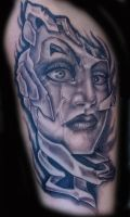 Freehand Face 2 by META-VIRUS
