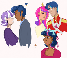 Human Twilight and Family by BellaCielo