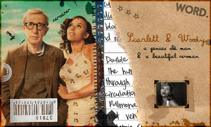 Woody Allen et Scarlett Johans by idiot-monkey
