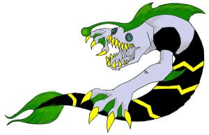 ben 10 alien:ripjaw by killerkeithfromouter