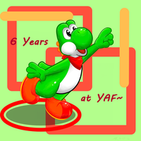 6 Years at YAF by LilArrin