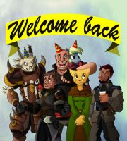 Welcome back by Steel123