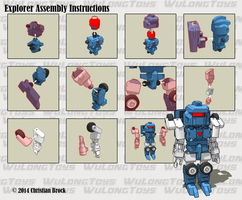 MiniBot - Explorer Assembly Guide by wulongti