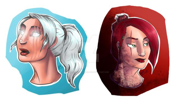 Character Busts by RenegadeWonderland
