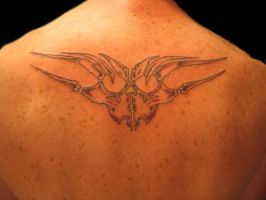 Tribal back by 44anarchy44